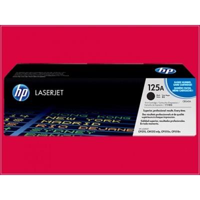 Cartucho de tóner negro HP 125A LaserJet