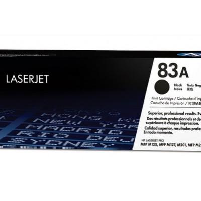 Cartucho de tóner negro HP 83A LaserJet